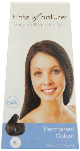 Tints of Nature Organic 6C Dark Ash Blonde Permanent Hair...