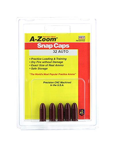 A-ZOOM 32 Auto Precision Snap Caps (5 Pack) (Best 32 Acp Ammo)