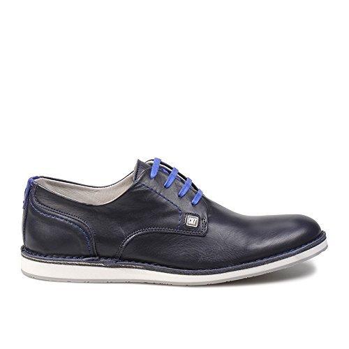 CR7 Cristiano Ronaldo Men Grunge Derby Shoe 01 45 EU Blue  Amazon.es   Zapatos y complementos 9db6961ca6d01