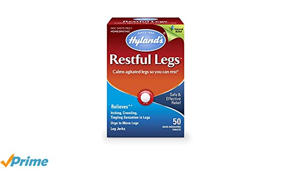 Hylands, Homeopathic, Restful Legs, x50tabs: Amazon.es: Salud y ...