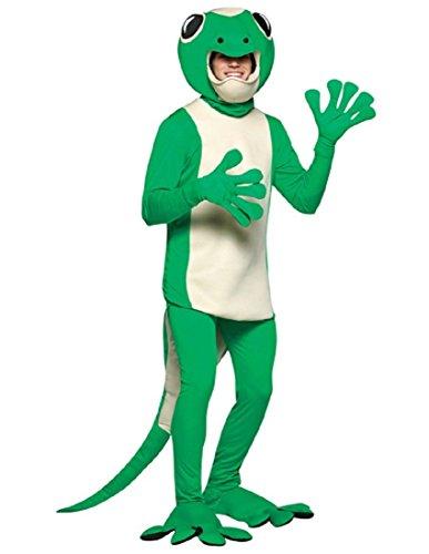 Seth Gecko Costumes - Rasta Imposta Adult Gecko Costume