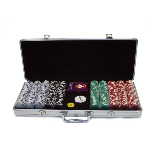 (Trademark 500 Royal Suited 11.5 Gram Chips with Aluminum Case (Silver))
