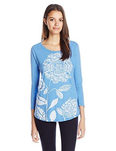 De Las Brand Moderna Girasol Mujeres Tee blue Azul Lucky Yonder tEqgwSw