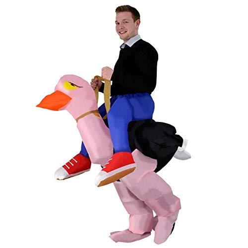 Inflatable Ostrich Rider Halloween Costume ()