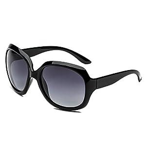 CHB Simple oversized women's polarized sunglasses lightweight 100% uv protection