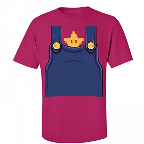 Which Plumber Are You?: Unisex Fruit of the Loom (Cute Super Mario Bros Halloween)