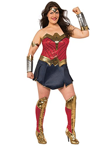 Justice League Wonder Woman Adult Costume - Plus Size