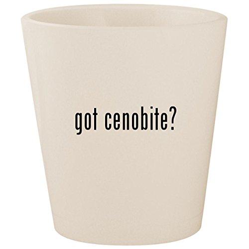 got cenobite? - White Ceramic 1.5oz Shot Glass ()