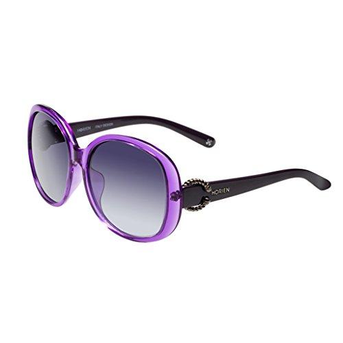 cadre Purple polarisées de Mesdames grand soleil lunettes ZAaqxXO