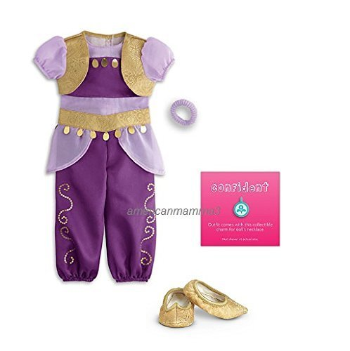 American Girl My AG Genie Outfit for Dolls + Charm Doll Not (Genie Outfits)