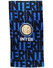 FC INTER Strandhanddoek, blauw-zwart, 70 x 140