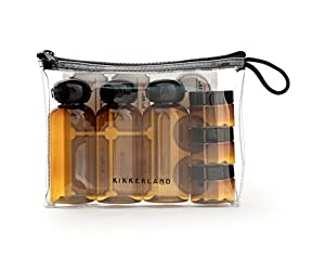 Amazon.com: Kikkerland Apothecary Travel Bag (Set of 6 ...