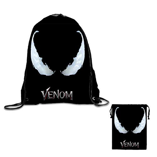 - Ve_nom Drawstring Cord Bag Pouch Storage Intake Sack For Gym Sport Traveling and Storage