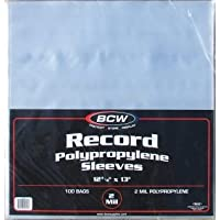 (200) BCW Record Album Sleeves / Covers