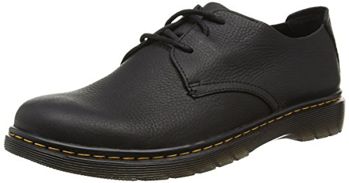 Dr. Martens Bexley Grizzly Black - Zapatos de cordones derby Hombre Negro - negro