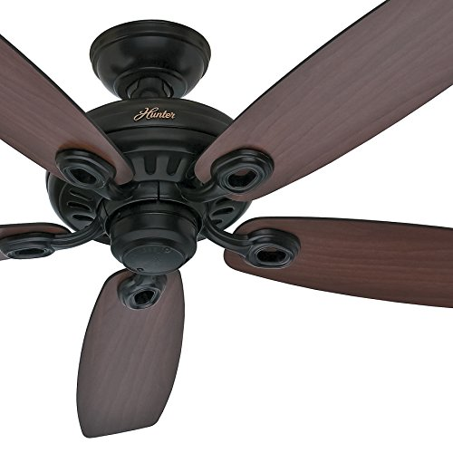 Cheap Hunter Fan 52 inch Ceiling Fan in Matte Black, 5 Blade – 6514 CFM (Certified Refurbished)