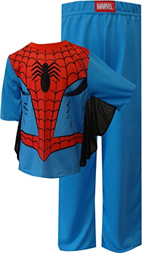 Spiderman Dress Like Spidey Toddler Pajamas With Webbed Sleeves for Little Boys (3T)