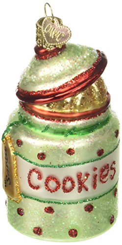 Old World Christmas Ornaments: Cookie Jar Glass Blown Ornaments for Christmas Tree ()