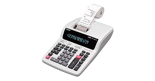 Amazon.com: Casio calculadora impresora computadora Tipo 14 ...