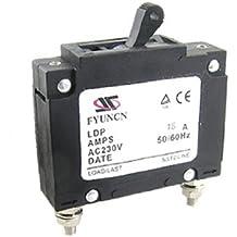 DealMux Rated Current Single Pole MCB Mini Circuit Breaker, AC 230V, 15 Amp