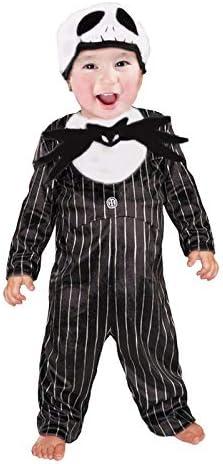 Disfraz de Esqueleto Jack Bebé Infantil Halloween (1-2 años) (+ ...