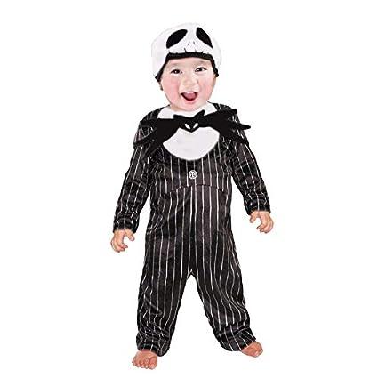 Disfraz de Esqueleto Jack Bebé Infantil Halloween (3-4 años) (+ Tallas)