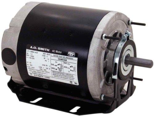 - Century BF2024 Split Phase Resilient, 48/56 Frame, 1/4-HP, 1725-RPM, 115/208-230-Volt, 5.2-Amp, Ball Bearing Motor