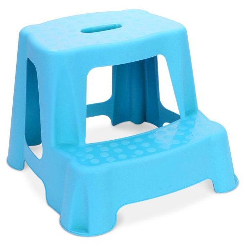 Children's 2 Step Stool (Blue) by RSW