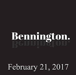 Bennington, February 21, 2017 Radio/TV Program