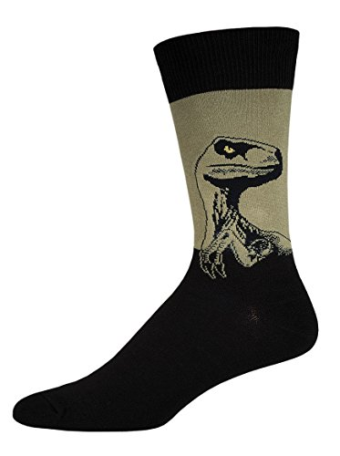 Dinosaur Socks (Socksmith Mens Crew Socks