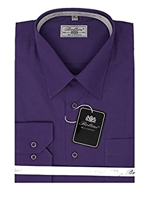Boltini New Mens Business New Buttoned Down Regular Fit Fashion Dress Shirt