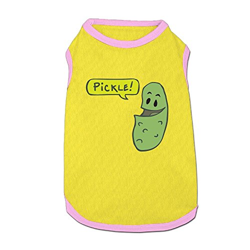 Pickle Pikle Puppy Dogs Shirts Costume Pets Clothing Warm Vest T-shirt -