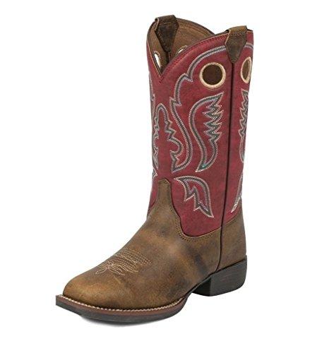 Justin Kids' Buffalo Bent Rail Western Boots - 326JR -