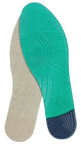 ERINSORM Mens,Size 8-12,PR IMPACTO Anti-Fatigue Insole Green//Gray