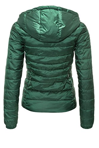Only Giacca Hood Donna Otw Verde Shimmer Jacket Onltahoe Cc q1pwfrqx