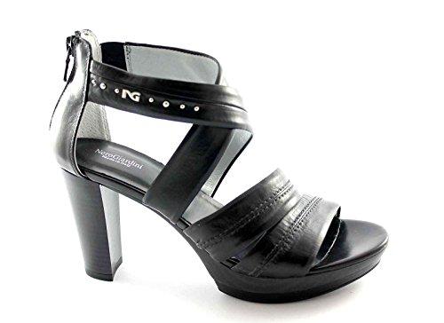 Sandales Nero Noir Nero femme Nero Noir Giardini pour XB6yqgw5YR