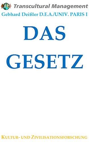 DAS GESETZ (German Edition)