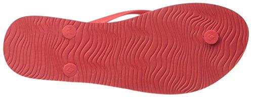 Red Sandalen Frauen Damen Prints Reef Sandalen Chakras Stripe wnqgWxUTx