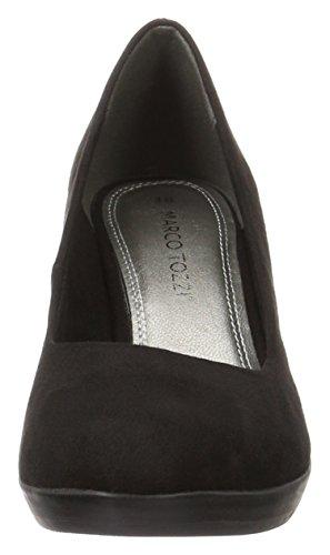 Marco Tozzi 22411, Zapatos de Tacón para Mujer Negro (Black 001)