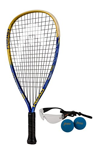 HEAD MX Hurricane Racquetball Pack, Strung, 3 5/8 Inch Grip – Sports Center Store