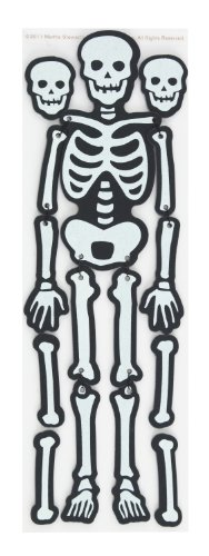 Martha Stewart Crafts Skeleton Sticker