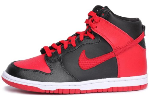 Amazon.com | Nike Dunk High (GS) Boys Basketball Shoes 308319-029 Black 6 M  US | Basketball
