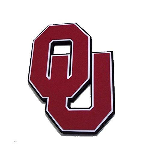 NCAA Oklahoma Sooners 3D Foam Wall Sign, One Size, Black