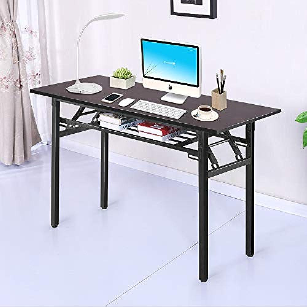 Superb Details About Computer Desk Large Lap Desks Laptop Folding Table Black Office Workstation For Home Interior And Landscaping Ferensignezvosmurscom