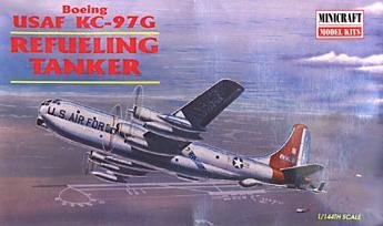 USAF KC-97G Refueling Tanker 1-144 by Minicraft - Kc 10 Tanker