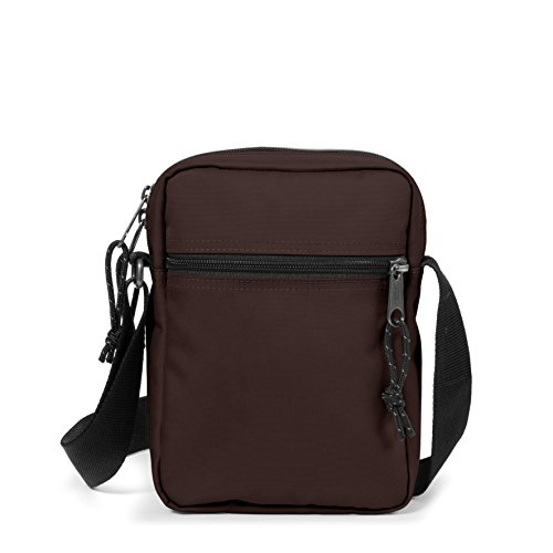 Eastpak The One Bolso Bandolera, 2.5 litros, Negro (Black) Marrón (Stone Brown)