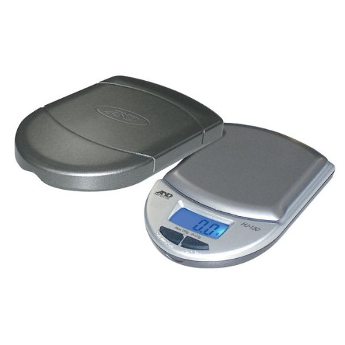 A&D HJ Pocket Scale 150 g x 0.1g with one touch calibration