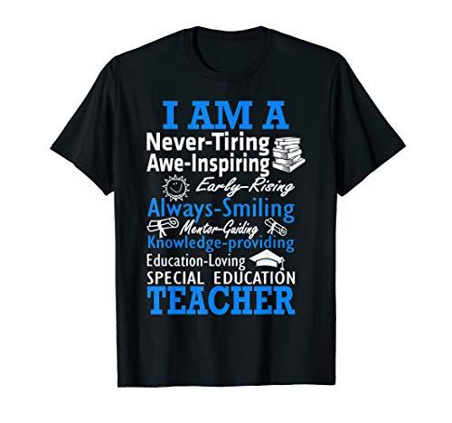 I am a Special Education Teacher Poem Tshirt Teacher Gift ()