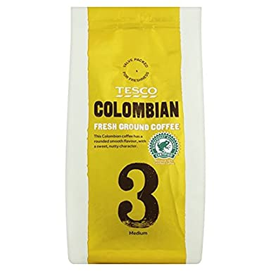 Tesco Colombian Ground Coffee 227g Amazoncouk Grocery
