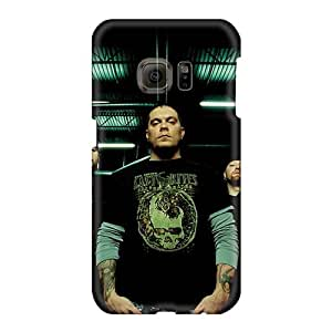 Scratch Resistant Hard Phone Covers For Samsung Galaxy S6 With Provide Private Custom High Resolution Bathory Band Skin JohnPrimeauMaurice